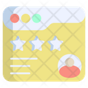 Survey Review Customer Icon