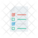 Survey Document Checklist Icon