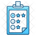 Clipboard Survey Rate Icon