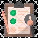 Surveyresearch Research Checklist List Customer Questionnaire Survey Business Icon