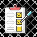 Survey Questionnaire Form Icon