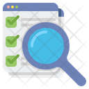 Survey Search Icon