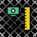 Camera Surveyor Construction Icon