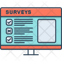Surveys Feedback Poll Icon