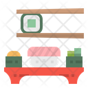 Sushi Salmon Fish Icon