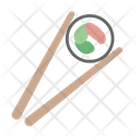 Chopsticks Maki Roll Icon