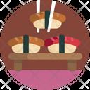 Food Sushi Snack Icon
