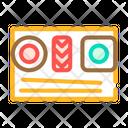 Sushi Dish Color Icon