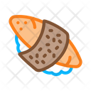 Sushi Roll Rice Icon