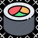 Sushi Roll Maki Icon