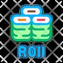 Sushi Roll Dish Icon