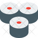 Sushi Roll Food Icon