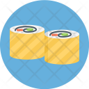 Sushi Roll Japan Icon