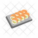 Rolls Delivery Sushi Icon
