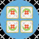 Sushi Sashimi Japan Icon