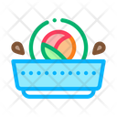 Sushi Roll Sauce Icon