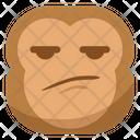 Suspect Smirk Monkey Icon