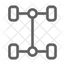 Suspension Automobile Vehicle Icon
