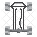 Suspension Chassis Car Icon