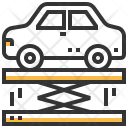 Suspension Lift Carry Icon