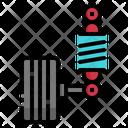 Suspension Vehicle Auto Icon