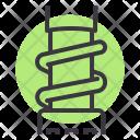 Suspension Motorcycle Monocross Icon