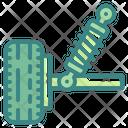 Suspension Car Automobile Icon