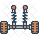Suspension Break Absorber Icon