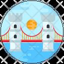 Bridge Suspension Bridge Footbridge Icon