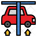 Car Vehicle Suspension Icon