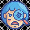 Suspicious Emoji Emoticons Icon