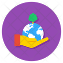 Save Earth Earth Day Save Environment Icon