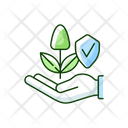 Suistinable Agriculture Smart Icon