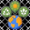 Sustainable Lifestyle Icon