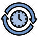 Sustainable Time Moment Icon