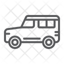 Suv Transport Auto Icon