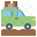Suv Car Transportation Jeep Icon
