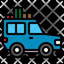 Suv Transport Off Icon