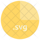 Svg File Format Icon