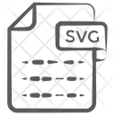 Svg File Document File Icon