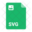 Svg Document Format Icon