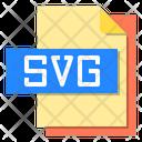 Svg File File Type Icon