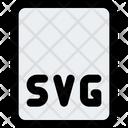 Svg File Svg File Format Icon