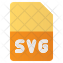 Svg Format Document Format Icon