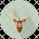 Swamp Deer Head Icon