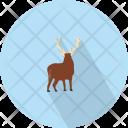 Swamp Deer Animal Icon