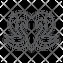 Swans Romance Love Icon