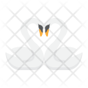 Swans in Love Icon