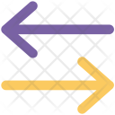 Swap Arrows Interchange Icon