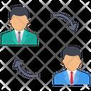 Swap Employee Employee Manager Icon